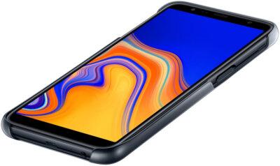 Чехол Samsung Gradation Cover для Galaxy J6+ J610 Black 3