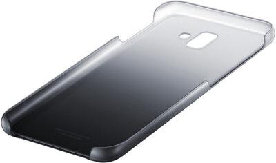 Чехол Samsung Gradation Cover для Galaxy J6+ J610 Black 5