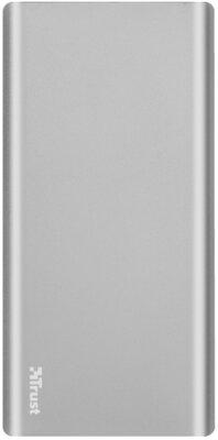 Мобильная батарея TRUST Omni thin metal Powerbank 10000mAh USB-C QC3 1