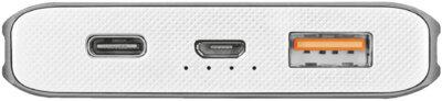 Мобильная батарея TRUST Omni thin metal Powerbank 10000mAh USB-C QC3 5