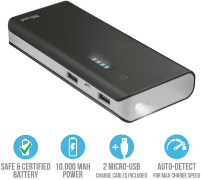 Мобільна батарея TRUST Primo 10000 4