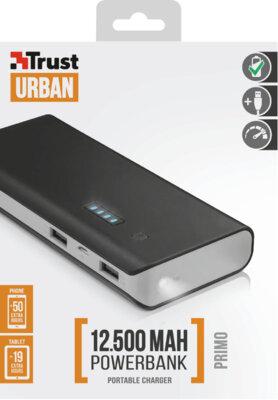 Мобильная батарея TRUST Primo 12500 Blue 7