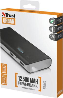 Мобильная батарея TRUST Primo 12500 Blue 8