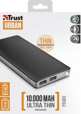 Мобильная батарея TRUST Primo Thin 10000 7