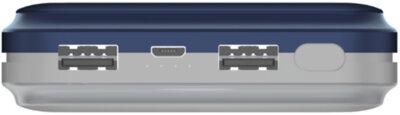 Мобільна батарея ENERGIZER UE20022 20000mAh Blue-Grey 4