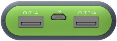 Мобильная батарея ERGO LI-S86 12500 mAh Rubber Grey 3