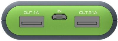 Мобильная батарея ERGO LI-S90 20000 mAh Li-ion Rubber Grey 5