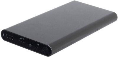 Мобильная батарея ERGO LP-106 10000 mAh TYPE-C Space Gray 9