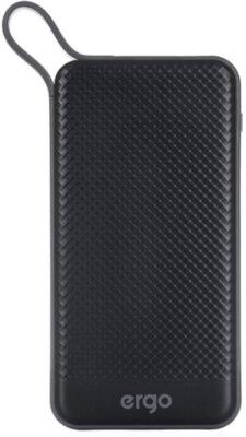 Мобільна батарея ERGO LP-129 10000 mAh TYPE-C Black 1