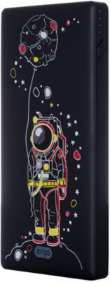 Мобільна батарея ERGO LP-83 10000 mAh Black 2