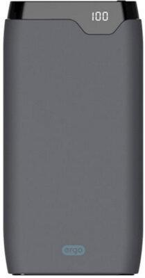 Мобільна батарея ERGO LP-K10 10000 mAh TYPE-C Rubber Grey 1