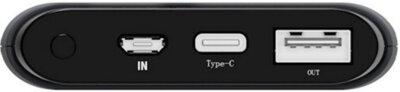 Мобільна батарея ERGO LP-K10 10000 mAh TYPE-C Rubber Grey 3