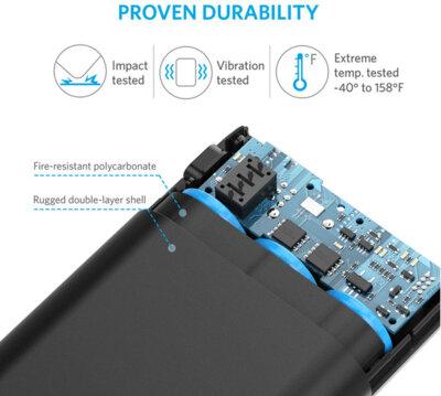 Мобільна батарея ANKER PowerCore QC3.0 V3 10000 mAh Black 2