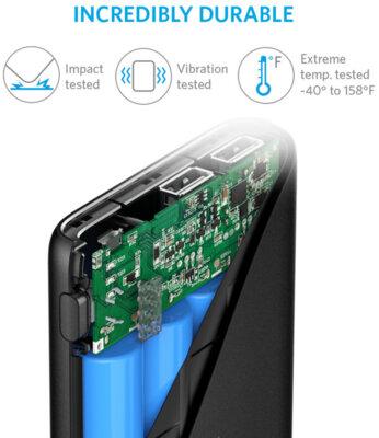 Мобільна батарея ANKER PowerCore V3 13000 mAh Black 3