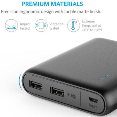 Мобільна батарея ANKER PowerCore V3 13000 mAh Black 4