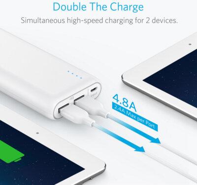 Мобільна батарея ANKER PowerCore V3 20100 mAh White 4