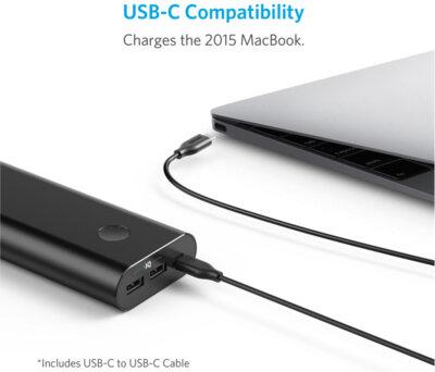 Мобільна батарея ANKER PowerCore+ 20100 USB-C V3 Black 2