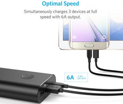 Мобільна батарея ANKER PowerCore+ 20100 USB-C V3 Black 3