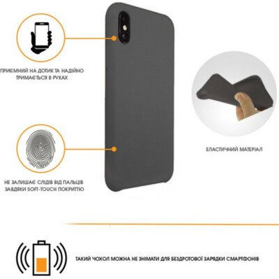 Чохол Intaleo Velvet для Samsung Galaxy J4 J400 Black 3