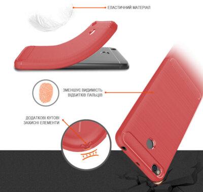 Чохол GlobalCase Leo для Huawei Y6 Pro Red 3