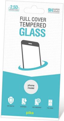 Защитное стекло Piko Full Cover для Samsung Galaxy A8+ A730 Black 1