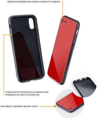 Чохол Intaleo Real Glass для Huawei P Smart Plus Red 3