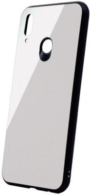 Чехол Intaleo Real Glass для Huawei P Smart Plus White 1