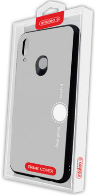 Чехол Intaleo Real Glass для Huawei P Smart Plus White 4