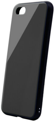 Чехол Intaleo Real Glass для Huawei Y5 2018 Black 1