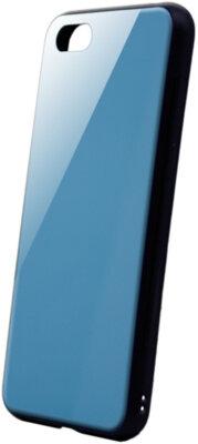 Чехол Intaleo Real Glass для Huawei Y5 2018 Blue 1