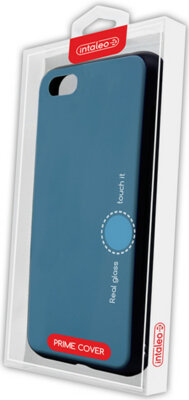 Чехол Intaleo Real Glass для Huawei Y5 2018 Blue 4