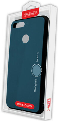 Чехол Intaleo Real Glass для Huawei Y6 Prime 2018 Blue 4