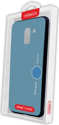 Чехол Intaleo Real Glass для Samsung Galaxy A6 A600 Blue 4