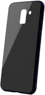 Чохол Intaleo Real Glass для Samsung Galaxy A6 A600 Black 1