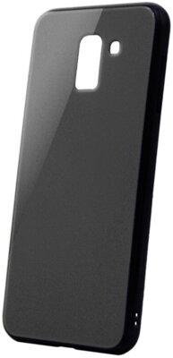 Чохол Intaleo Real Glass для Samsung Galaxy A6+ A605 Black 1