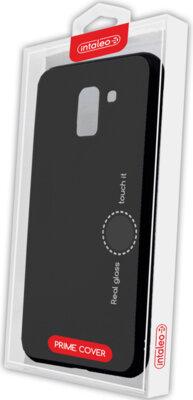 Чохол Intaleo Real Glass для Samsung Galaxy A6+ A605 Black 4