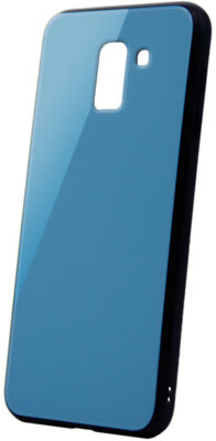 Чехол Intaleo Real Glass для Samsung Galaxy A6+ A605 Blue 1
