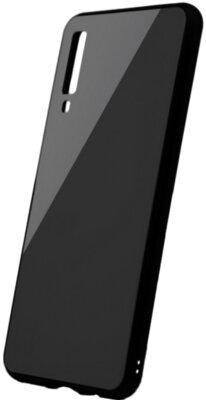 Чехол Intaleo Real Glass для Samsung Galaxy A7 2018 (A750) Black 1