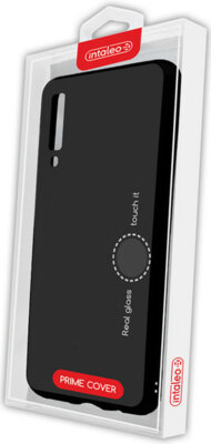 Чехол Intaleo Real Glass для Samsung Galaxy A7 2018 (A750) Black 4