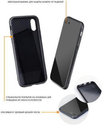 Чохол Intaleo Real Glass для Samsung Galaxy J4+ J415 Black 3