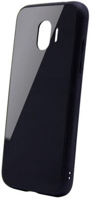 Чехол Intaleo Real Glass для Samsung Galaxy J4 J400 Black 1