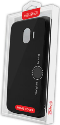 Чехол Intaleo Real Glass для Samsung Galaxy J4 J400 Black 4