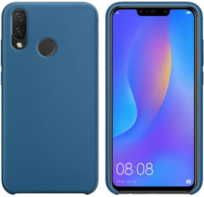 Чохол Intaleo Velvet для Huawei P Smart Plus Blue 2