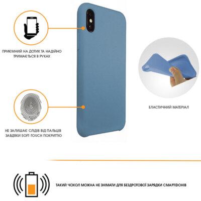 Чохол Intaleo Velvet для Huawei P Smart Plus Blue 4