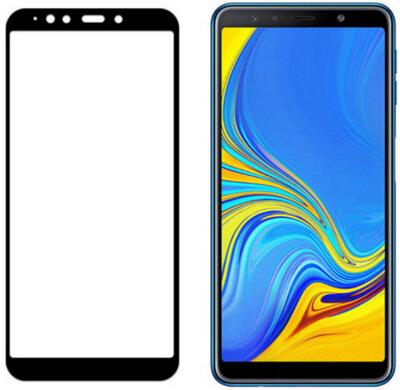 Захисне скло Optima 3D Black для Samsung Galaxy A7 (2018) A750 1