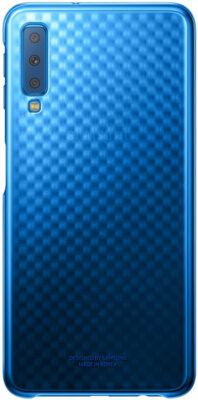 Чехол Samsung Gradation Cover для Galaxy A7 (2018) A750 Blue 1