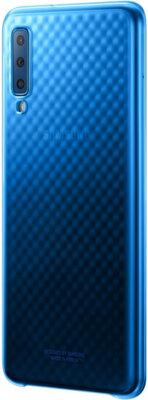 Чехол Samsung Gradation Cover для Galaxy A7 (2018) A750 Blue 2