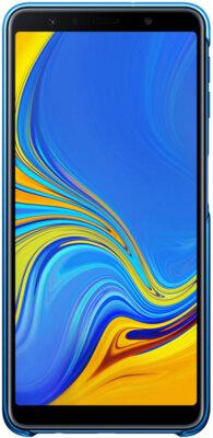 Чехол Samsung Gradation Cover для Galaxy A7 (2018) A750 Blue 3