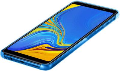 Чехол Samsung Gradation Cover для Galaxy A7 (2018) A750 Blue 4
