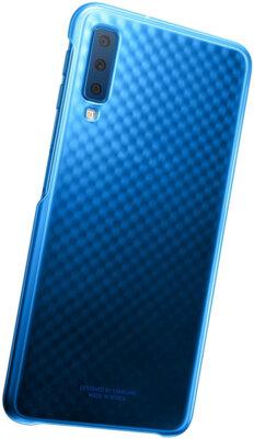 Чехол Samsung Gradation Cover для Galaxy A7 (2018) A750 Blue 5